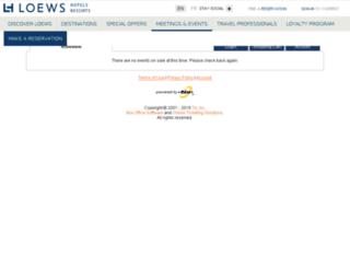loewscoronado.tix.com screenshot