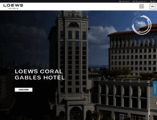 loewshotels.com screenshot