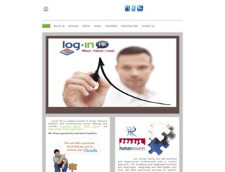 log-inhr.com screenshot