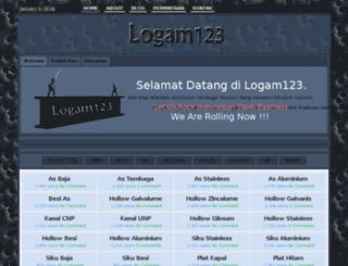 logam123.com screenshot