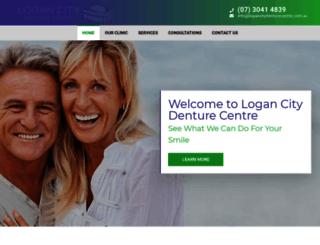 logancitydenturecentre.com.au screenshot