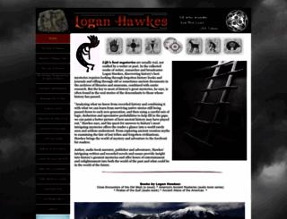 loganhawkes.com screenshot