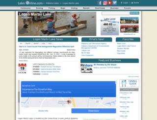 loganmartin.info screenshot