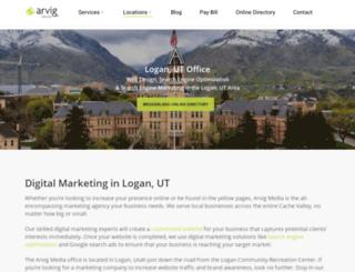 loganpages.com screenshot