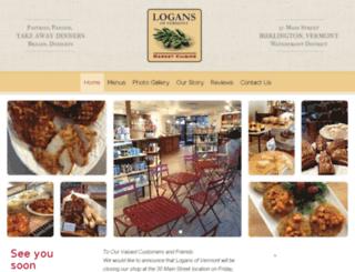 logansofvermont.com screenshot