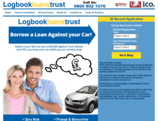 logbookloanstrust.com screenshot