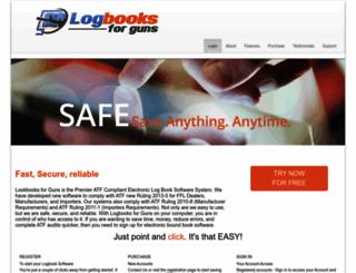 logbooksforguns.com screenshot