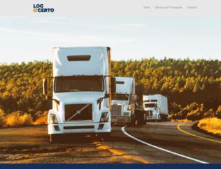logcerto.com.br screenshot
