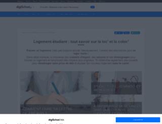 logement.etudinfo.com screenshot