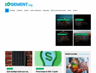logement.org screenshot