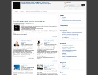 logementfonctionnaire.agence-presse.net screenshot