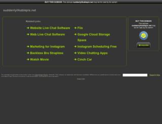 loggedin.suddenlylikablepix.net screenshot