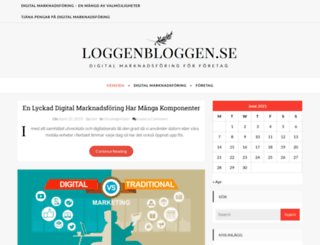 loggenbloggen.se screenshot