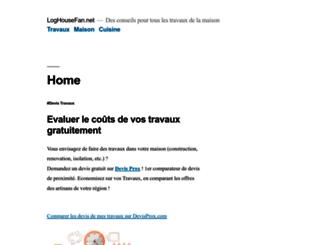 loghousefan.net screenshot