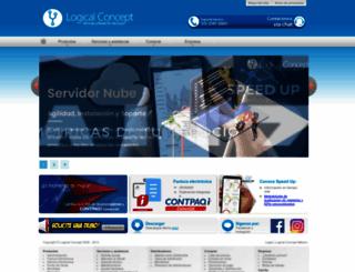 logicalconcept.com screenshot