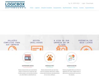 logicbox.com.br screenshot