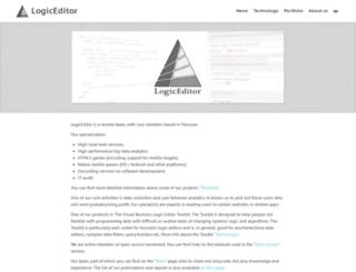 logiceditor.com screenshot