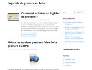 logiciel-gravure.net screenshot