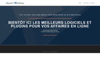 logiciel-marketing.fr screenshot