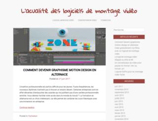 logiciel-montage-video.net screenshot
