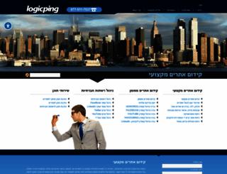logicping.co.il screenshot