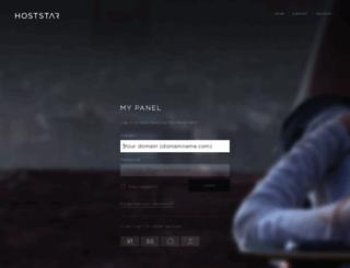 login-43.hoststar.ch screenshot