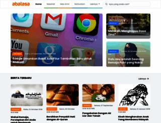 login.abatasa.co.id screenshot