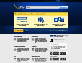 login.adf.ly screenshot