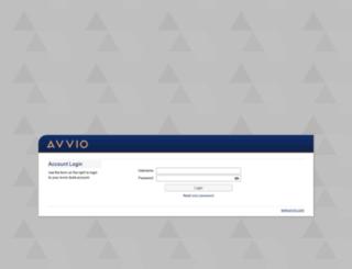 login.avvio.com screenshot