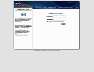 login.balkan-cash.com screenshot