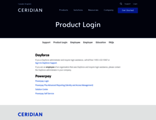 login.ceridian.ca screenshot