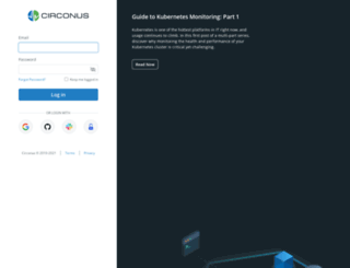 login.circonus.com screenshot