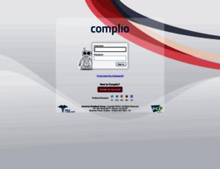 login.complio.com screenshot