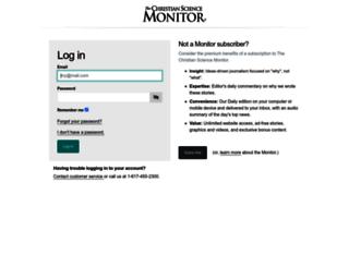 login.csmonitor.com screenshot
