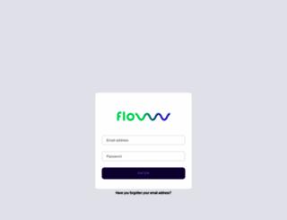 login.flowww.net screenshot
