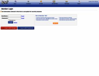 login.fotki.com screenshot
