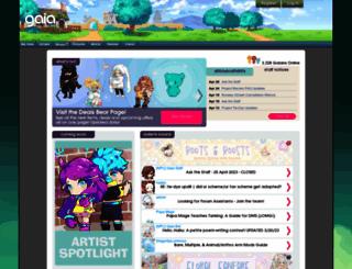 login.gaiaonline.com screenshot