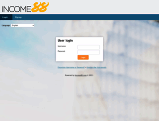 login.income88.com screenshot