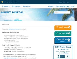 login.khmtravel.com screenshot