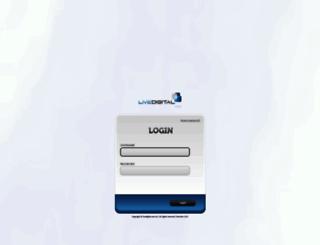 login.livedigital.com.au screenshot