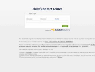 login.marketdialer.com screenshot