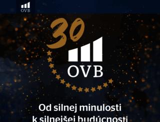 login.ovbportal.sk screenshot