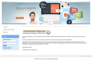 login.phpspezial.de screenshot