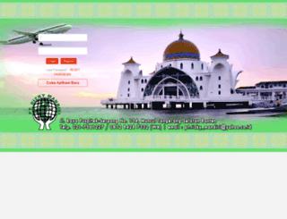 login.rizkymandiritravel.co.id screenshot