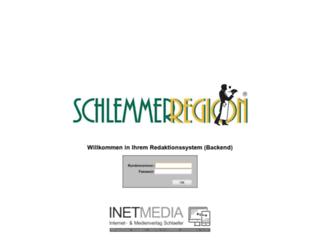 login.schlemmerregion.de screenshot