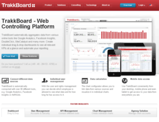 login.trakkboard.com screenshot