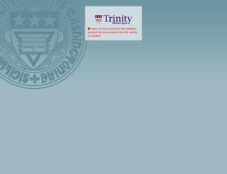 login.trinitydc.edu screenshot