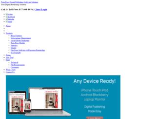 login.turn-page.com screenshot