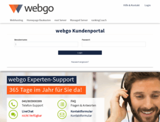 login.webgo24.de screenshot