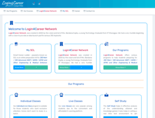 login4career.com screenshot